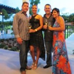 Co-Principals Kourtni and Debbie with husbands Chris and Eddie