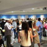 An astounding turn-out for MBTS' very first art exhibit and auction!