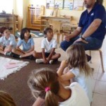 The Children listen as Mr. Karoly shares his wisdom.