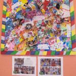 Mixed-media collage by artist Martinne Mills (with special thanks to Heather Cassidy) and the LED class.