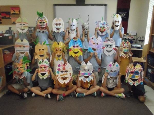 Africa Masks 1