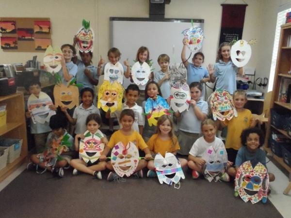Africa Masks 2