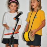 "Two friends sing an original ""Friendship Song"""