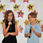 A pop song duo