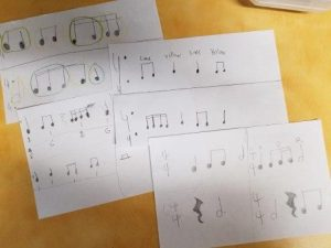 Grade 6 Music compositions.