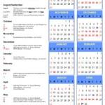 MBTS 2019/2019 School Calendar