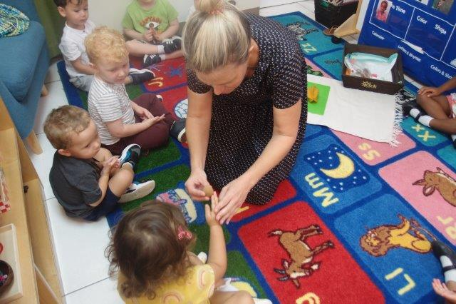 Learning Through Our Senses in the Montessori Toddler Environment
