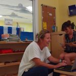 ... as Casa teachers carefully prepare the environment...