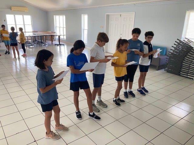 Building Trust and Teamwork in Drama